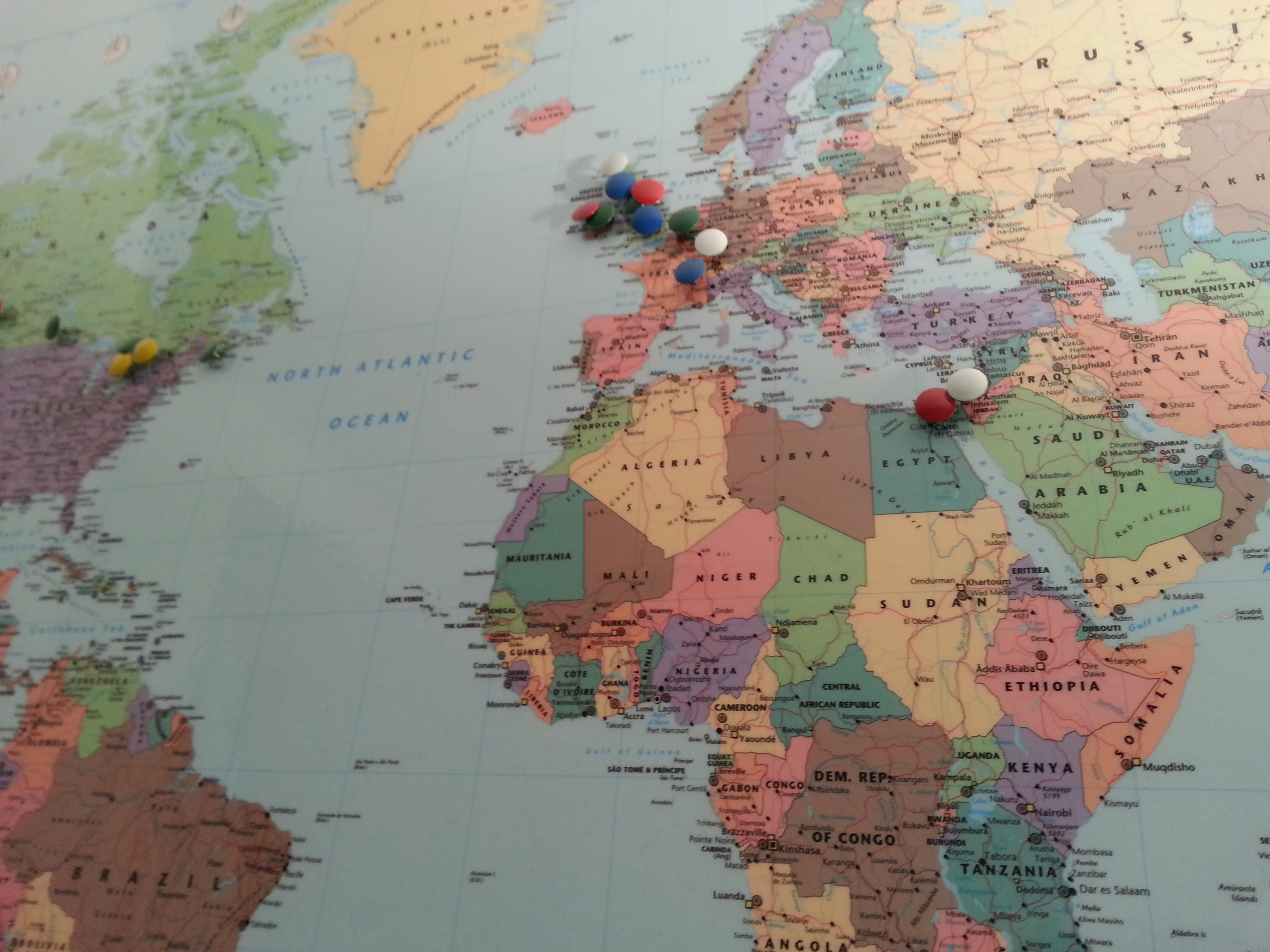 ...and we're global!